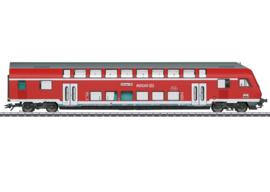 H0 | Märklin 43569 - DB AG, Dubbeldeks-stuurstandrijtuig 2e klas