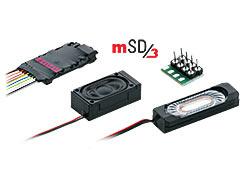 H0 | Märklin 60985 - SoundDecoder mSD3 (Stoomloc sound)