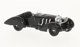 H0 | BoS-Models 87405 - Mercedes SSK Count Trossi, schwarz, Der schwarze Prinz, 1932