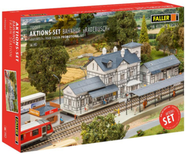 H0 | Faller 190060 - Actieset Station Radebusch