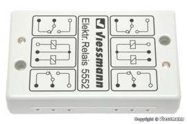 Viessmann 5552 - Elektronisch relais 2x2UM
