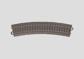 H0 | Märklin 24224 - Gebogen railstuk R437,5 mm - 24,3Gr (C-rail)