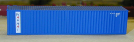 N | De Luxe 5421 - set 40' containers Wan Hai / corrugated