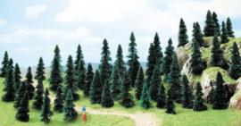 H0 | Busch 6497 - 50 pine trees