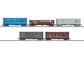 H0 | Märklin 45658 - Amerikaaanse goederenwagenset