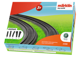 H0 | Märklin my world 23300 - Aanvullingsverpakking kunststofrails.