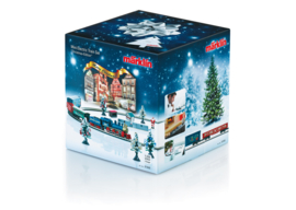 Z | Märklin 81846 -  Christmas Starter Set. 120 Volts. Freight Train with an Oval of Track and the Right Power Pack