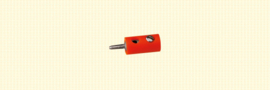 Brawa 3056 - stekker Ø 2.5mm oranje (10 stuks)