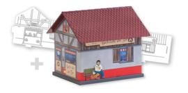 H0 | Faller 150170 - BASIC Bakery, incl. 1 paintable model