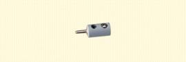 Brawa 3057 - stekker Ø 2.5mm grijs (10 stuks)