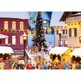 H0 | NOCH 51202 - Kerstverlichting en kerstster