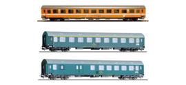"H0 | Tillig 501764 - 3-delige personenwagenset ""Vindobona deel 2"", tijdperk IV"