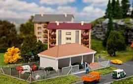 N | Faller 232246 - Recycling depot