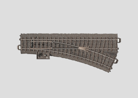 H0 | Märklin 24612 - Wissel rechts R437,5 mm - 24,3Gr (C-rail)
