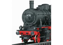 H0   Märklin 37518 - DB, Stoomlocomotief serie 56