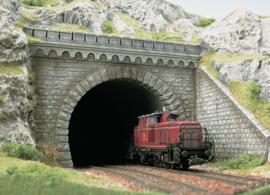 H0 | Busch 7023 - Tunnelportaal