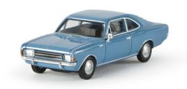 H0 | Brekina 20651 - Opel Rekord C Coupé , horizon blue
