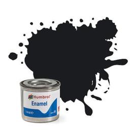 Humbrol 021 - BlackGloss, 14 ml