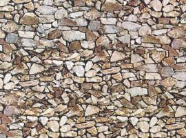 H0   Faller 170610 - Muurplaat, Natuursteen, monzonie