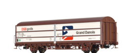 "H0 | Brawa 48979 - DSB, Schuifwandwagen HBIS ""Grand Danois"""