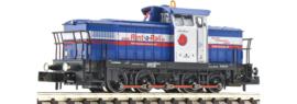 N | Fleischmann 722008 - Rent-a-Rail Eisenbahn-Service AG, Diesellocomotief BR V 60