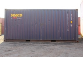 H0 | PT Trains 820006 - Container 20´DV SEACO (SEGU2960355)