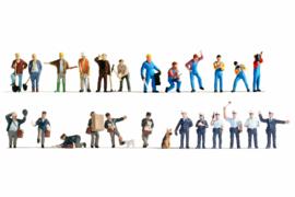 H0 | NOCH 16109 - XL set, arbeiders