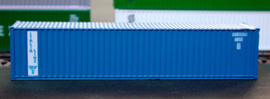 N | De Luxe 5350 - set 40' containers Italia Line / corrugated