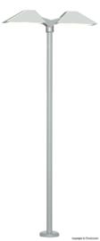 N | Viessmann 6484 - Moderne platformlamp, dubbel, witte LED's