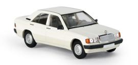 H0 | Brekina Starmada 13200 - Mercedes 190 E Limousine, wit