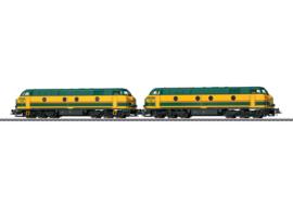 H0 | Märklin 37602 - NMBS, Diesellocomotief serie 55 in dubbeltractie