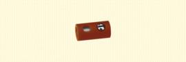 Brawa 3044 - moffen Ø 2.5mm bruin (10 stuks)