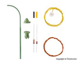 H0 | Viessmann 6729 - Booggaslantaarn, LED warmwit