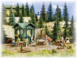 H0 | Vollmer 43606 - Barbecueplaats met hut