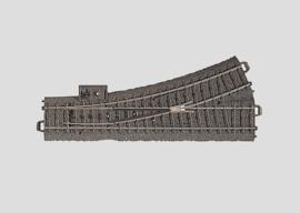 H0 | Märklin 24611 - Wissel links R437,5 mm - 24,3Gr  (C-rail)