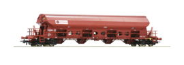 H0 | Roco 76412 - Swing roof wagon, type Tadns, of the ERMEWA. Epoch VI