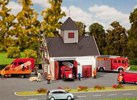 N | Faller 222208 - Country style fire department