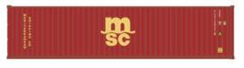 N | De Luxe 20141 - set 40' containers MSC / Hi-Cube