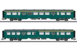 H0 | Märklin 43547 - NMBS, Set personenrijtuigen M2