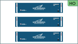 H0 | Atlas 20005733 - 45' Containers, NYK Logistics (3 Pack)