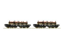 H0 | Roco 67133 - Set NS coilwagens