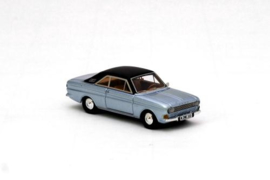 H0 | NEO 87333 - 1968 Ford Taunus P6 15M - Blue w/ Brown Roof