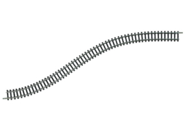 N | Minitrix 14901 - Flexrail lengte 730 mm.