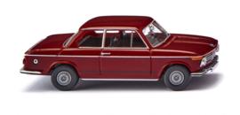 H0   Wiking 018307 - BMW 2002, purperrood (1)