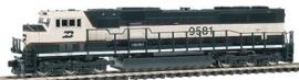 N | Kato 176-6504 - EMD SD70MAC / BN 9581