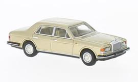 H0 | BoS-Models 87326 - Rolls Royce Silver Spirit Mark I, metallic-lichtbeige, 1980