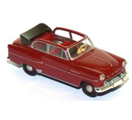H0 | Brekina 20222 - Opel Olympia Cabrio, red.