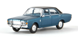H0   Brekina 19444 - Ford 26m (p7b), blue metallic (TD-model)