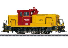 H0 | Märklin 37244 - NSB, Diesellocomotief serie Di5
