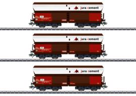 H0 | Märklin 46279 - SBB, Set goederenwagens Fals